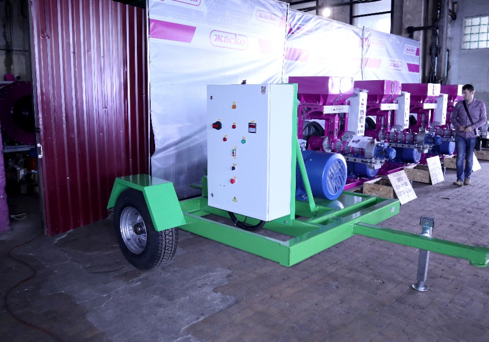 The JASKO company has resumed deliveries of VALINGA pneumatic loaders